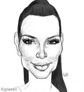 kim_kardashian_2015_caricature_by_karisean-d92yjb1